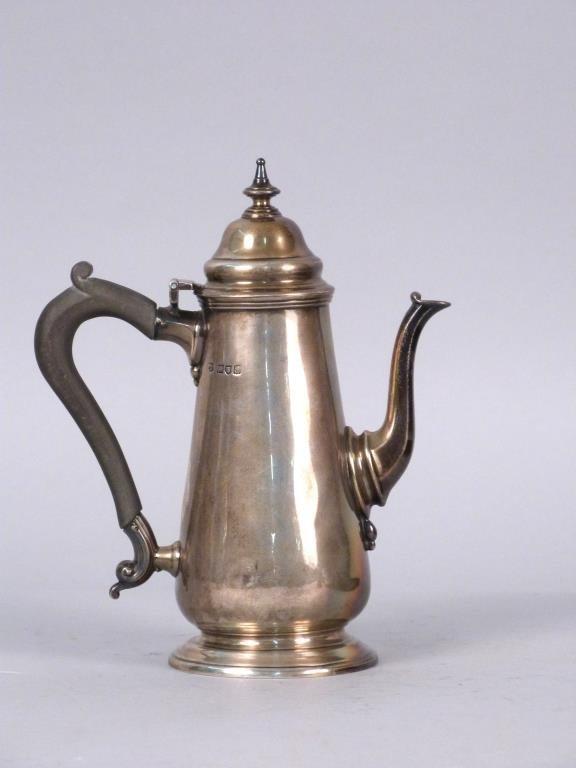 Antique English Silver Teapot  *** Date Correction ***