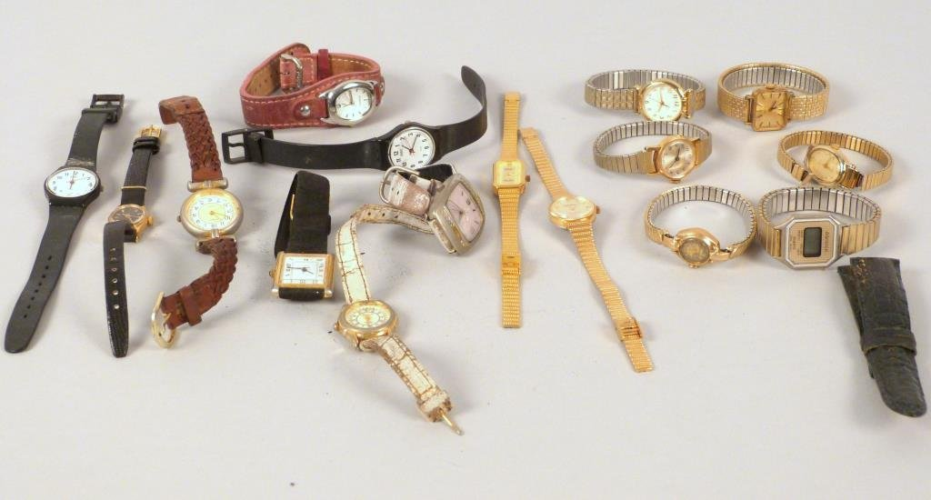 16 Assorted Wrist Watches