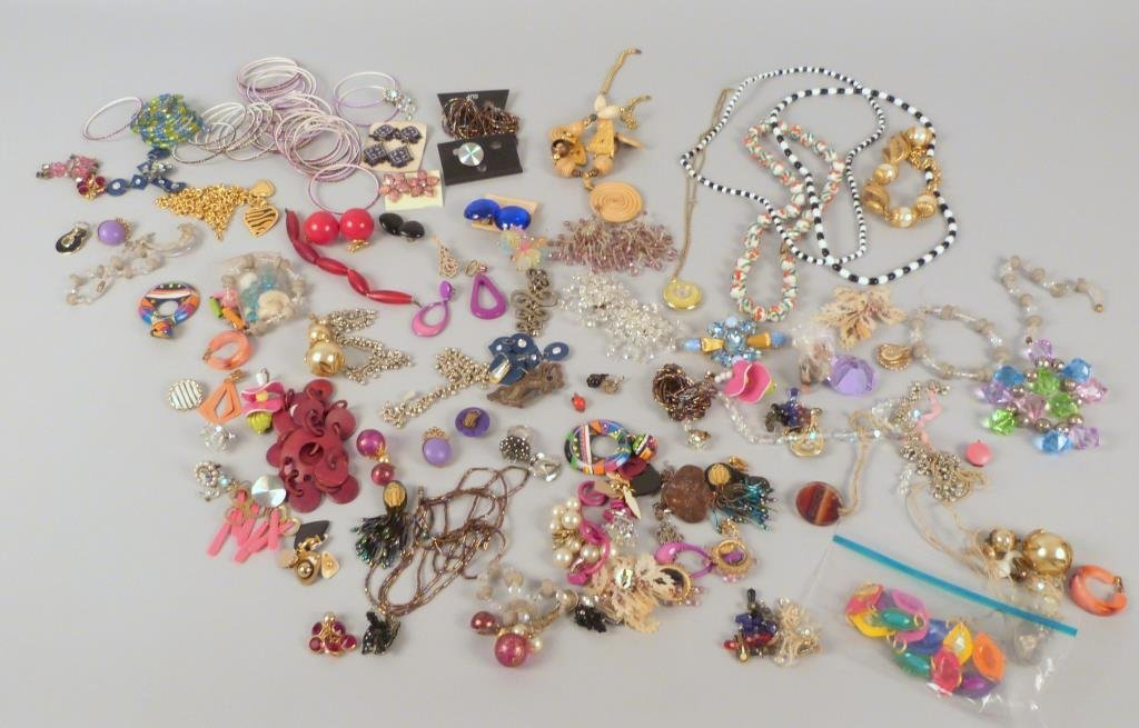 60+ Pieces of Assorted Costume Jewelry