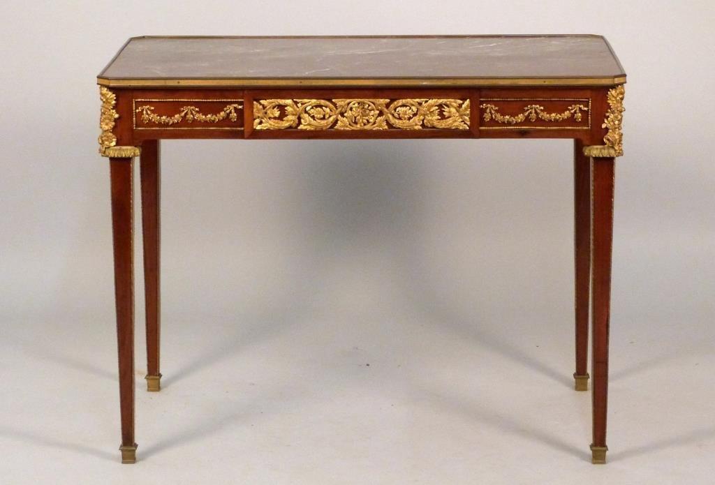 French Rectangular Center Table