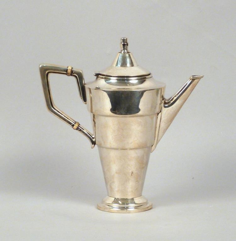 Gorham Art Deco Sterling Tea Pot