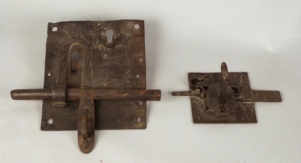 2 Antique Locks