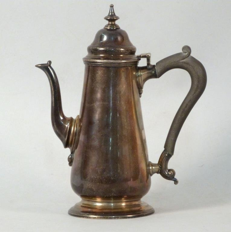 Antique English Silver Teapot