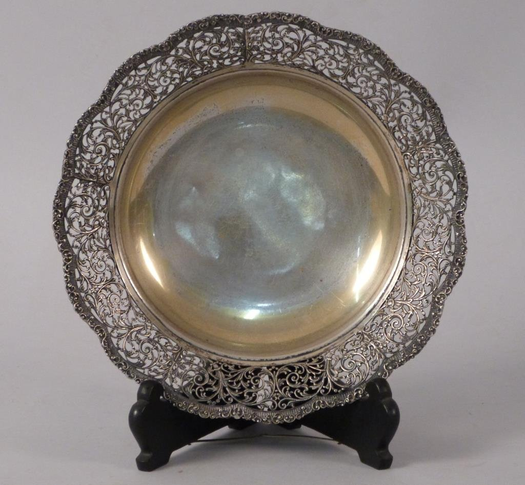 Continental Silver Open Bowl