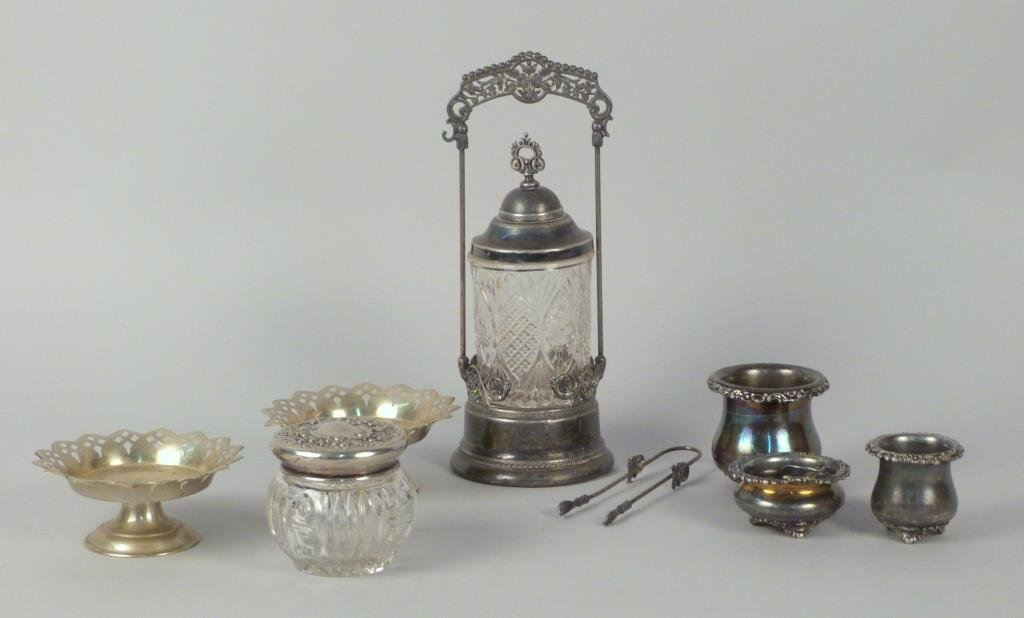 Assorted Silver Plate and Other Metal Articles