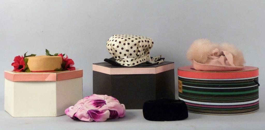 5 Vintage Hats