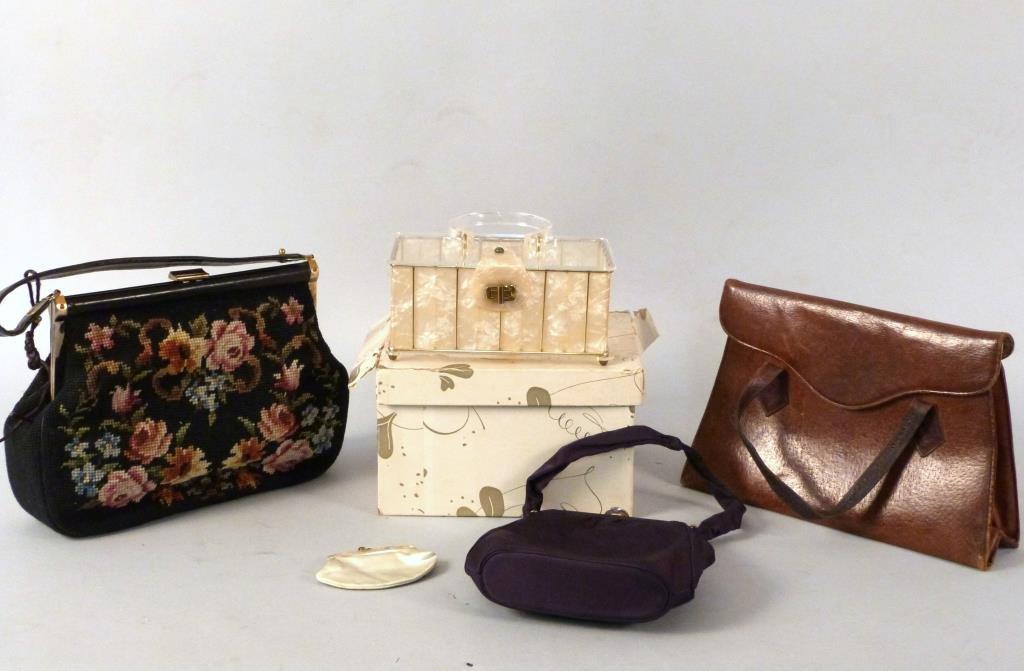4 Vintage Handbags