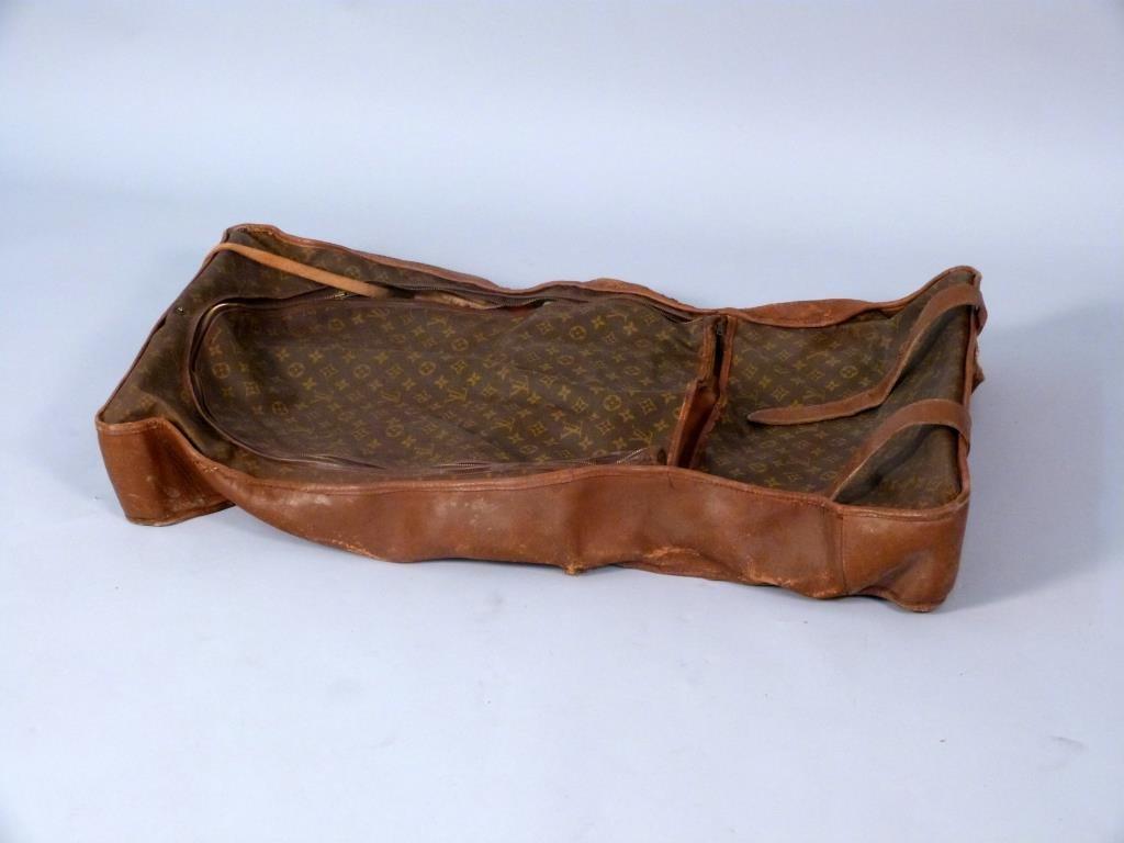 Vintage Louis Vuitton Garment Luggage Bag