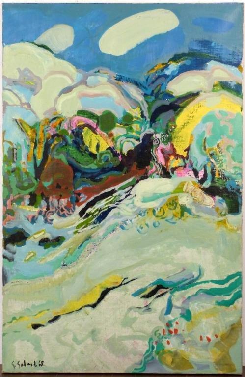 Gabriel GODARD (French/American, b. 1933) - Oil