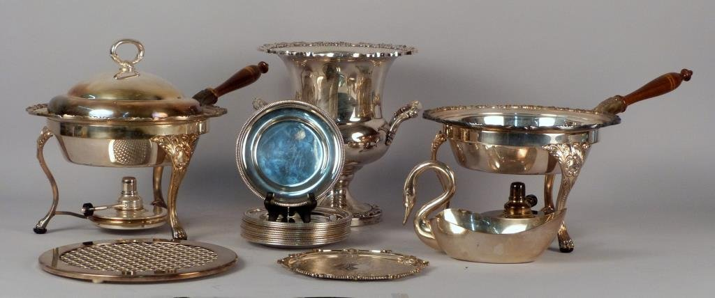 Assorted Silver Plated & Other Metal Articles