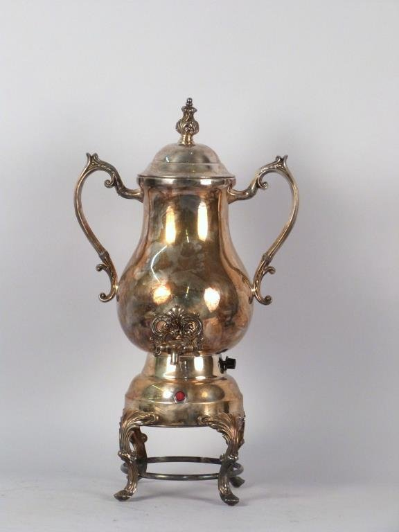 Silver Plated Electric Coffee Urn