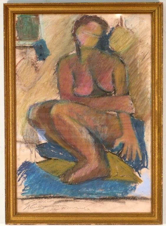 Signed Willem De Kooning - Mixed Media/Paper