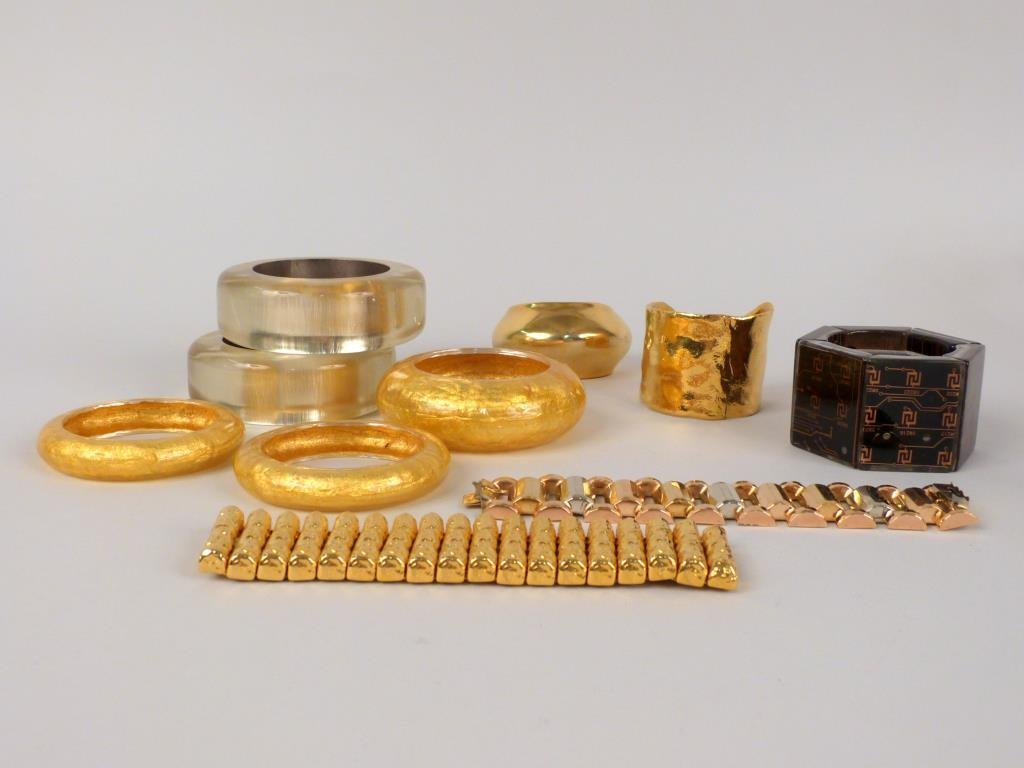 10 Assorted Costume Bracelets