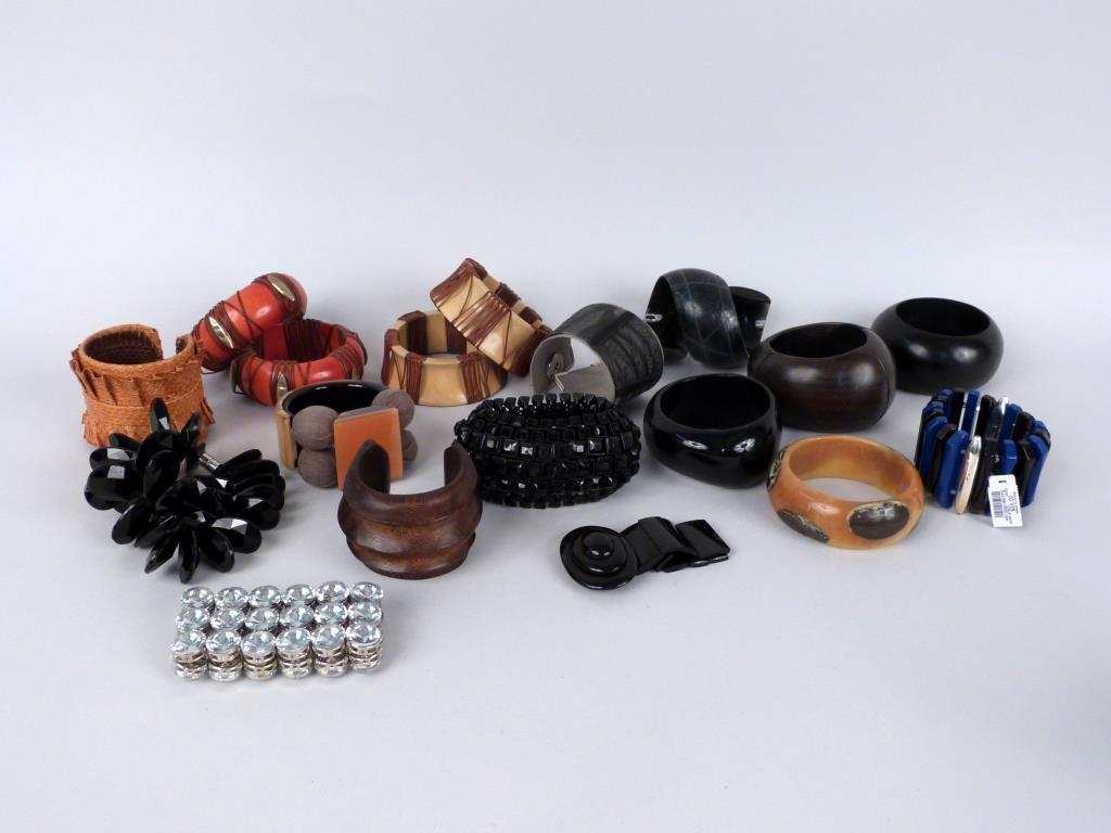 18 Assorted Bracelets