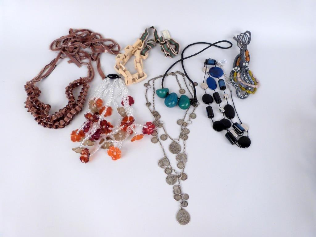 7 Costume Necklaces