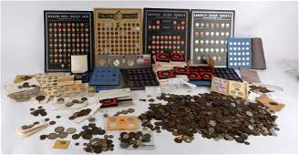 Large Collection of Antique & Vintage Coins