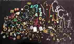 Assorted Costume Jewelry As Is
