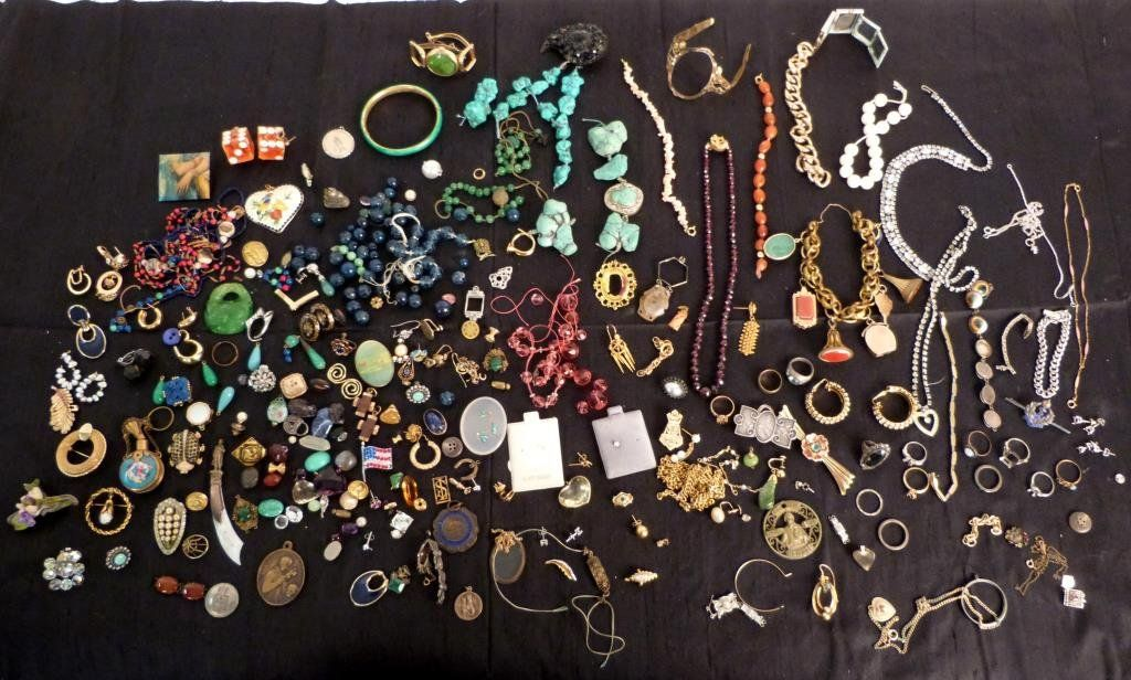 Assorted Costume Jewelry (As Is)