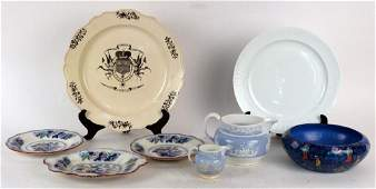 Assorted English  Continental Table Articles