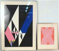 2 Contemporary Lithographs