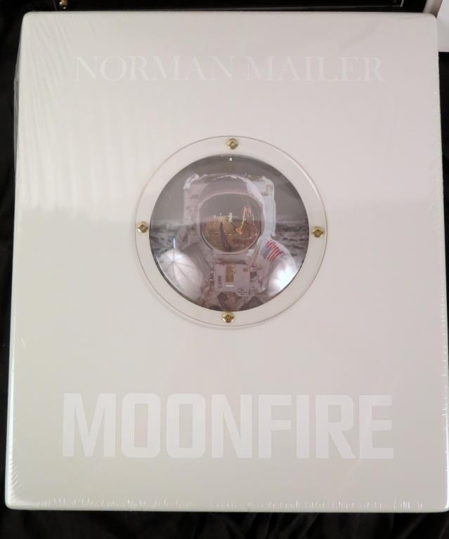 Buzz  Aldrin & Normal Mailer Moonfire Book & Photo - 2