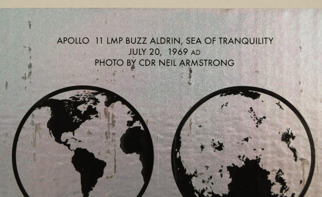 Buzz  Aldrin & Normal Mailer Moonfire Book & Photo - 4