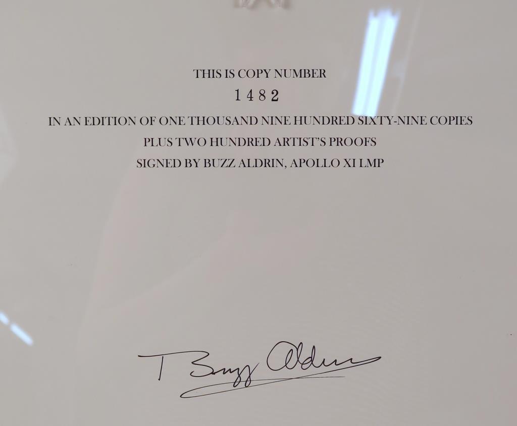 Buzz  Aldrin & Normal Mailer Moonfire Book & Photo - 5
