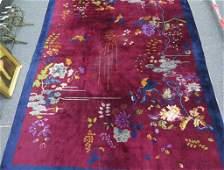 Nichols Chinese Art Deco Carpet 9 X 118Floral