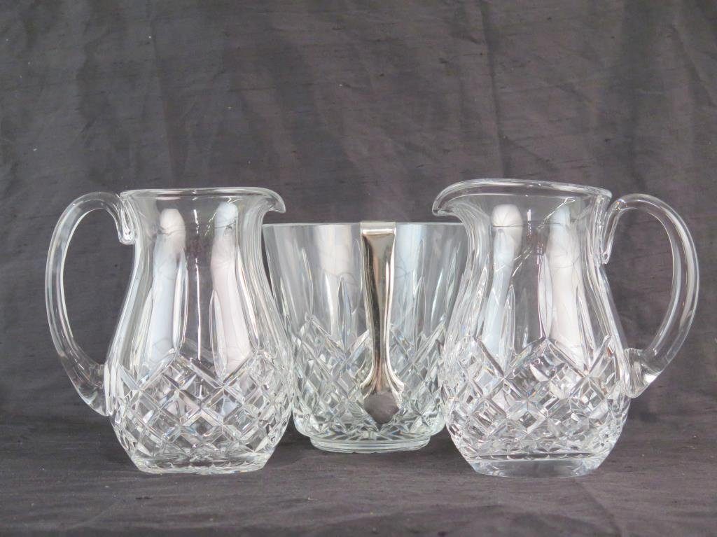 Waterford Crystal Pitchers & Ice Bucket