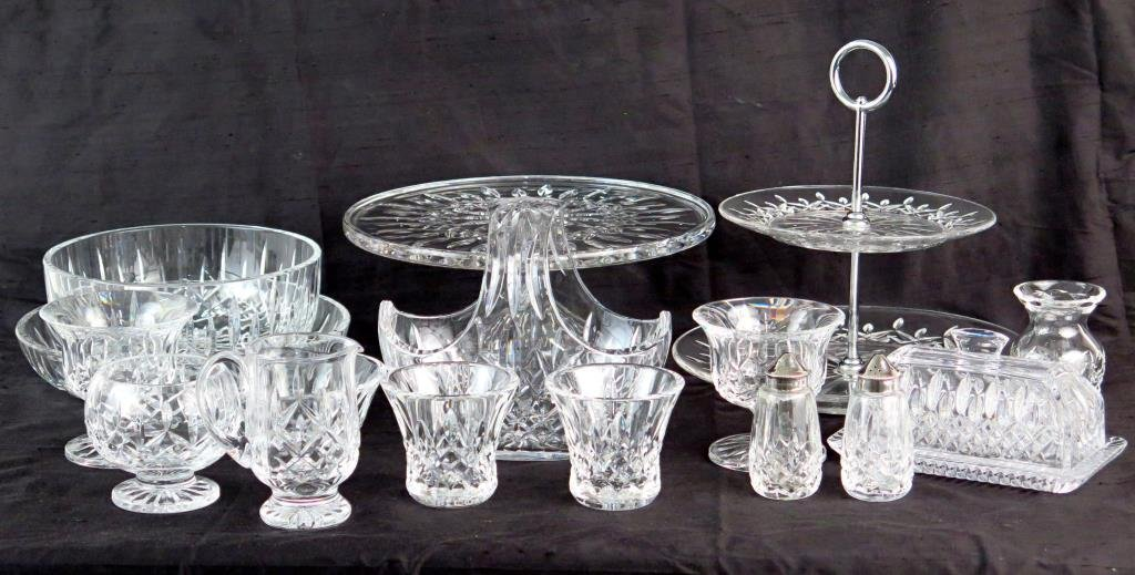 Assorted Waterford Crystal Articles