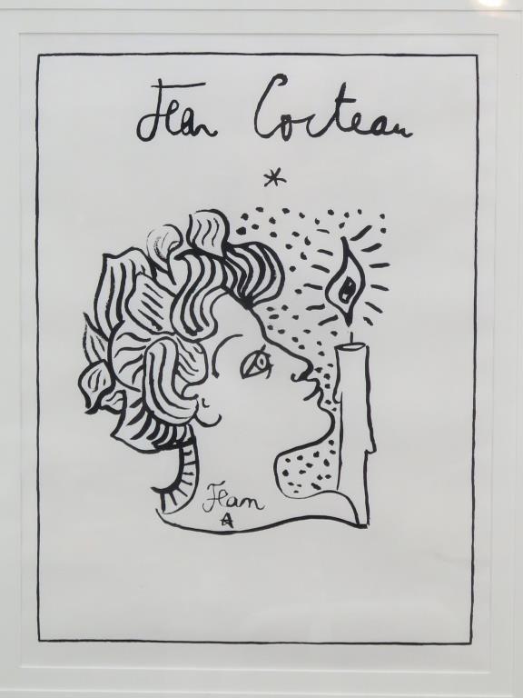 Jean Cocteau (French, 1889-1963)- Lithograph