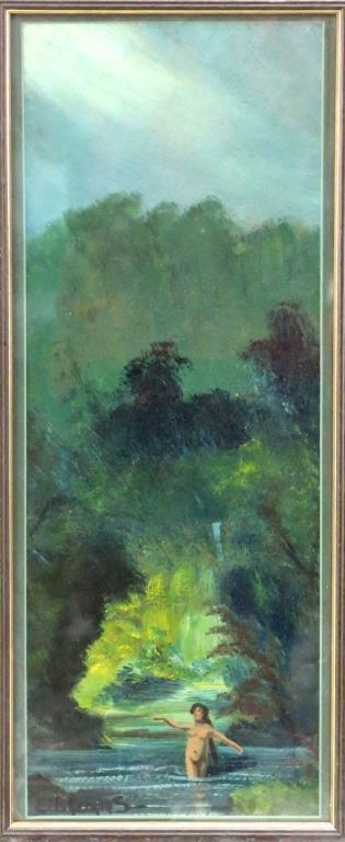 Louis Michel Eilshemius (American, 1864-1941)- Oil