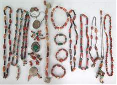 Assorted Costume and Stone Jewelry