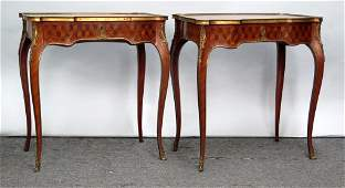 Pair French Console  Lamp Tables