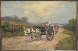 Charles W. Oswald (British, 19th Century) - Oil