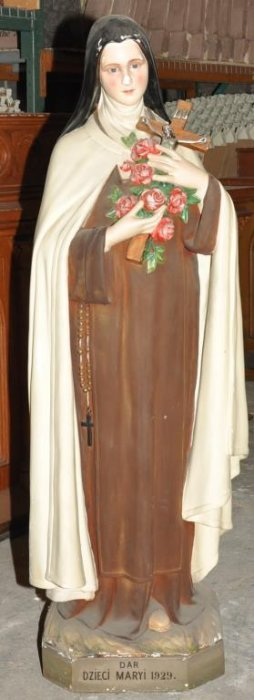 Plaster Statue Of St Theresa