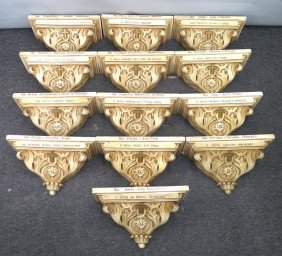 Wall Brackets For The Stations Of The Cross