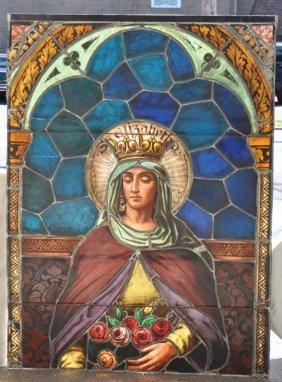 Mayer Of Munich Stained Glass Window