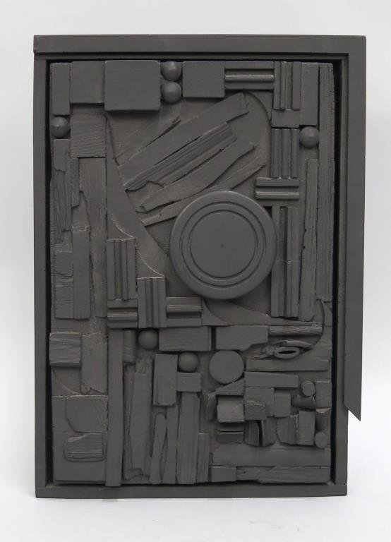 After Louise Nevelson - Composition Sculpture