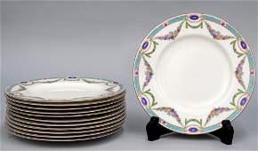 Set 12 Royal Worcester Plates