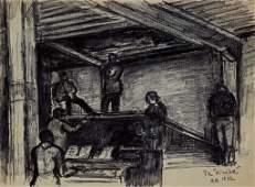 Arbit Blatas (Lithuanian 1908-1999) Stage Design