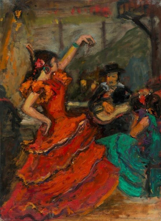 "Arbit Blatas (Lithuanian 1908-1999) - Carmen"""""