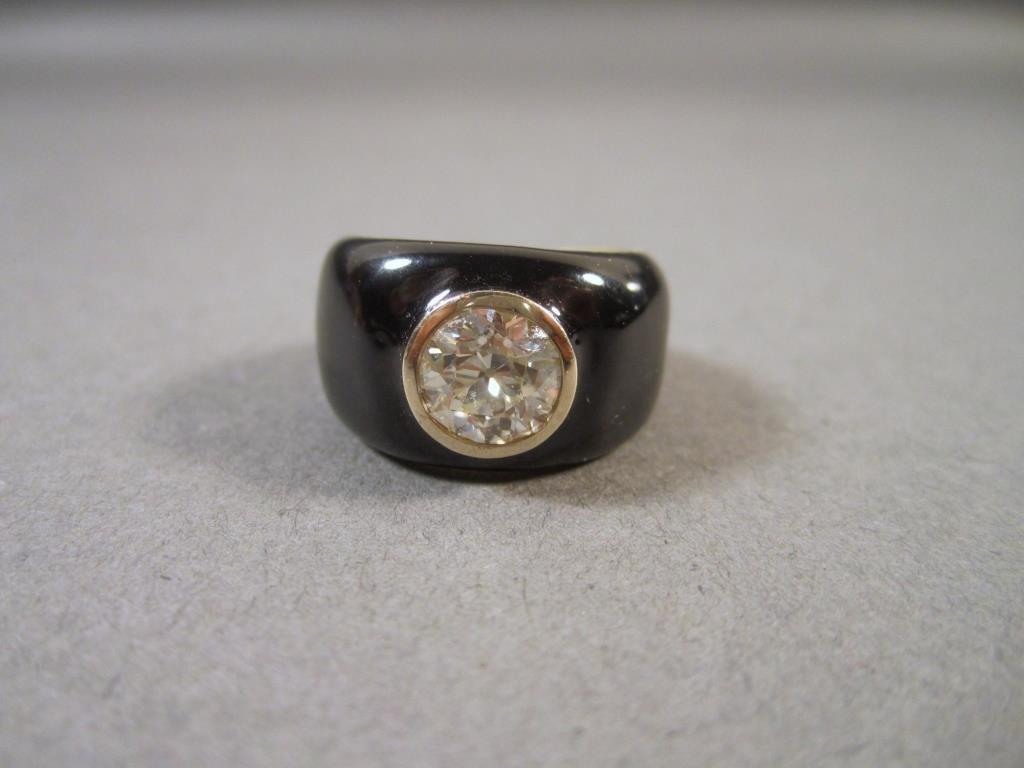 Custom Made Gold and Diamond Ring