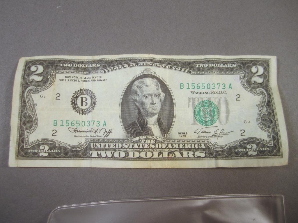 1978 US $2 Bill