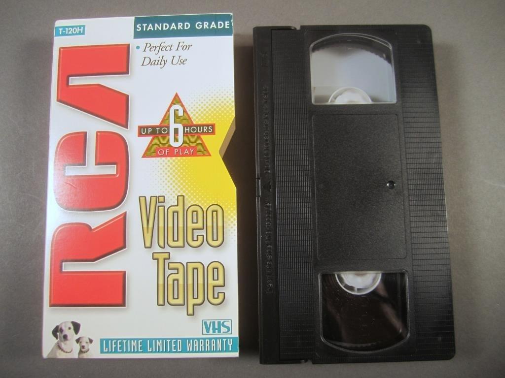RCA VHS Video Cassette Tape