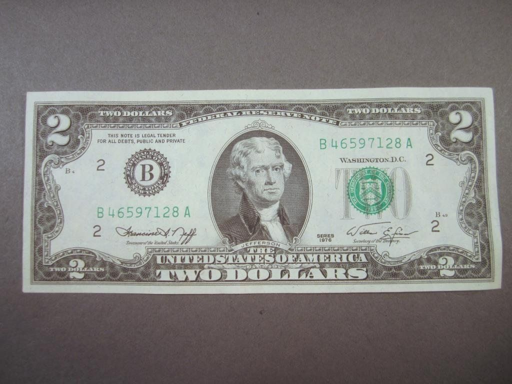 1976 US $2 Bill