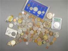Assorted U.S. and Foreign Coinage