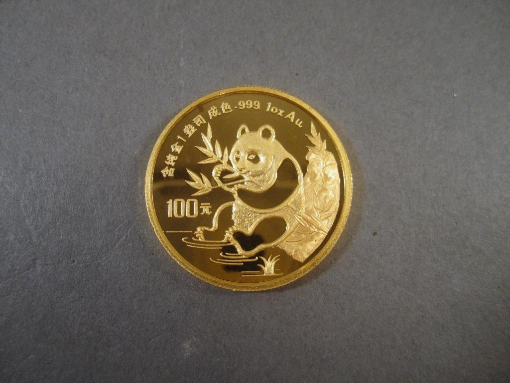 1991 Chinese 1 Oz Pure Gold Coin