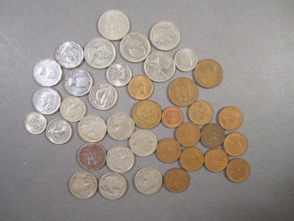 Buffalo Nickels etc.