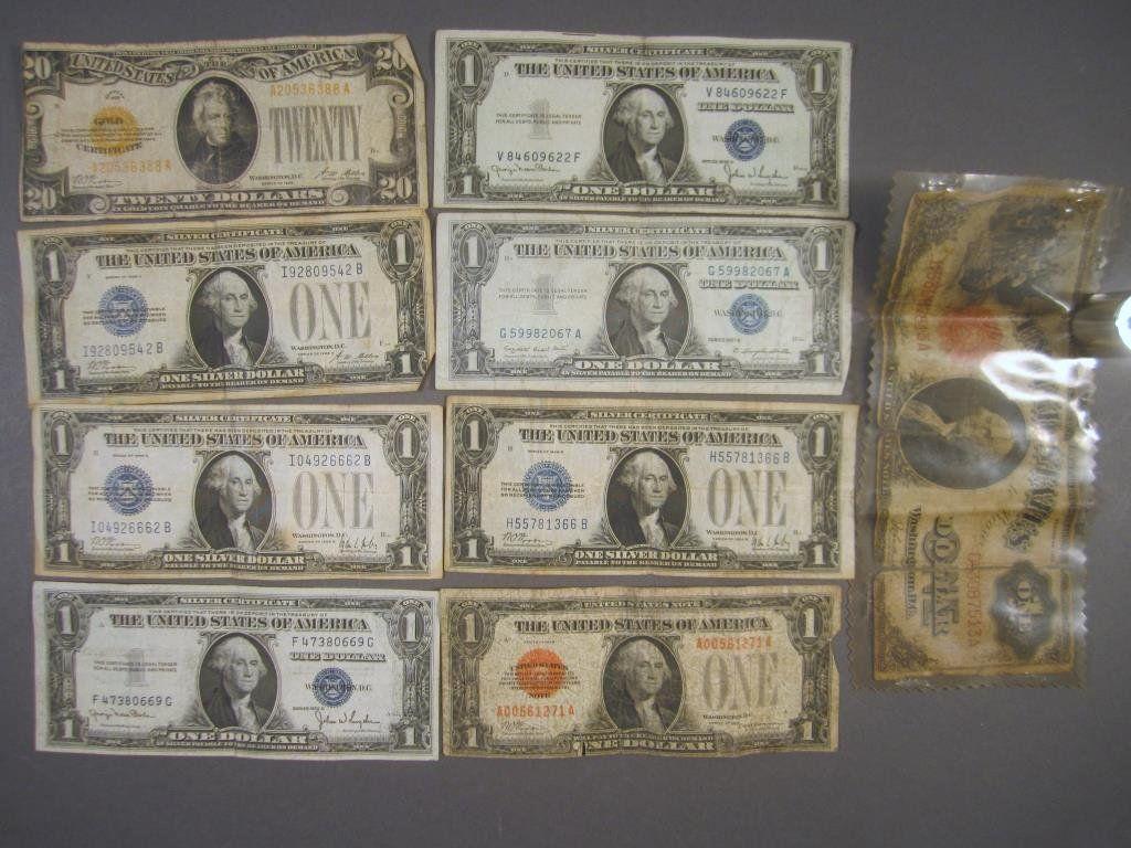 Vintage US Paper Currency (9)